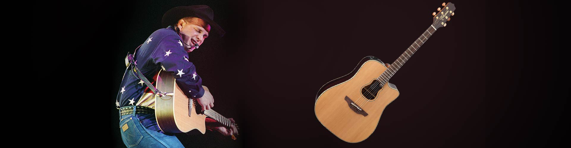 Takamine Signature Model #2 - The Garth Brooks GB7C.